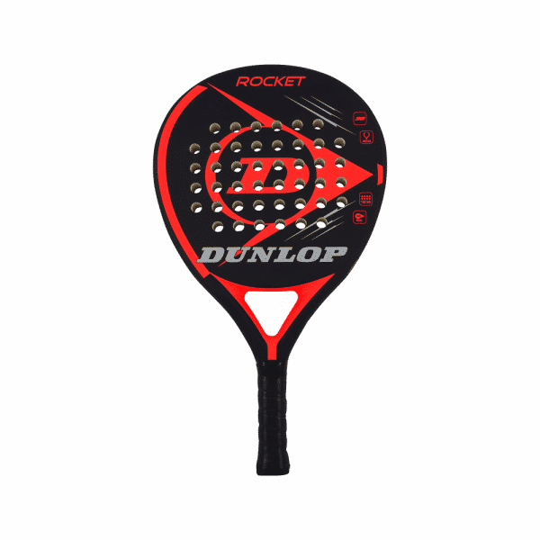 Dunlop Rocket Red padelrack. DU623964