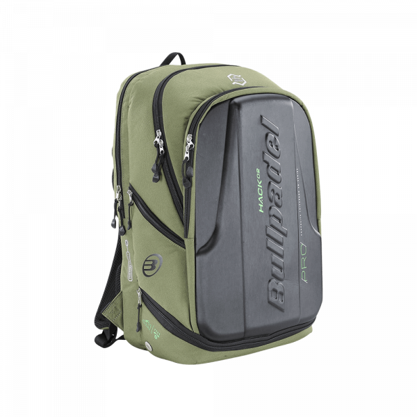 Bullpadel Tech Backpack 2021 Military Green