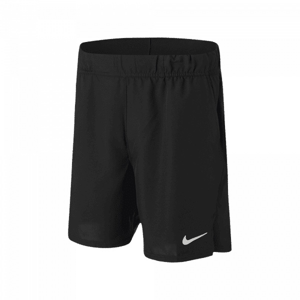Nike Court Dri-FIT Victory Men's Shorts Black. A pair of black padel shorts from Nike.