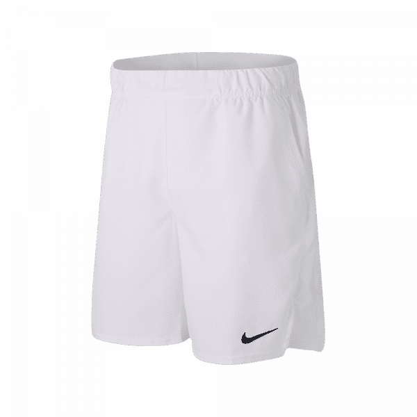 Nike Court Dri-FIT Victory Men's Shorts White. A pair of white padel shorts from Nike.