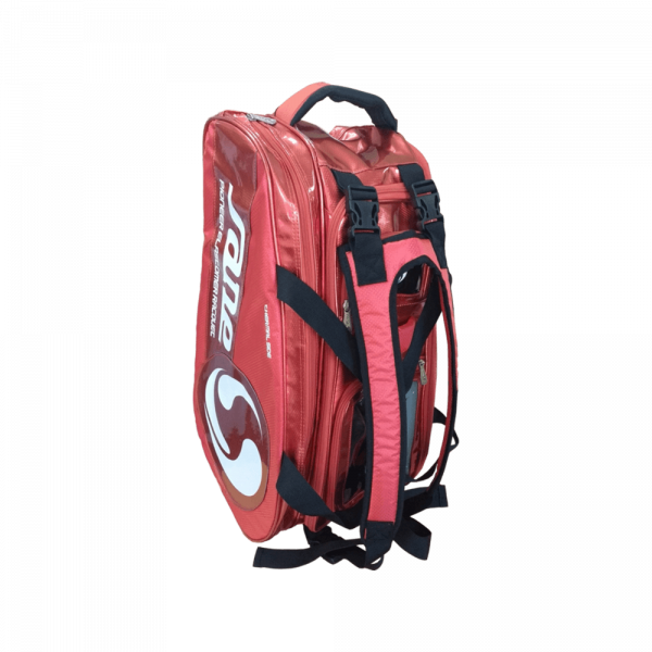 Sane Padel Bag in red and white