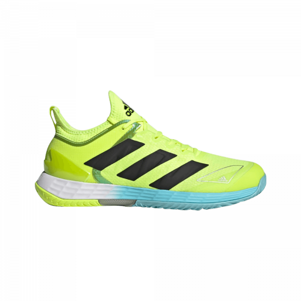 adidas Adizero Ubersonic 4 Solar Yellow/Black/Haze SKy. Yellow and black padelshoes from adidas.