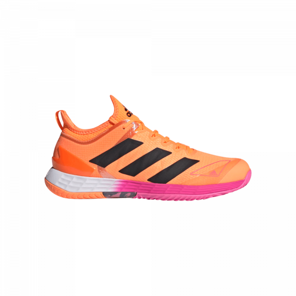 adidas Adizero Ubersonic 4 Orange/Pink. Orange and pink padelshoes from adidas.
