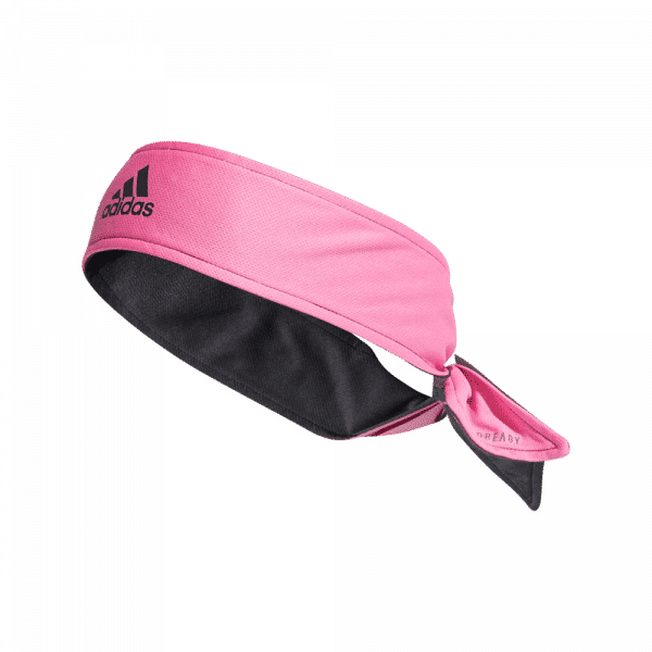 adidas Aeroready Reversible Headband Pink/Grey/Black. Pink, grey and black headband from adidas.