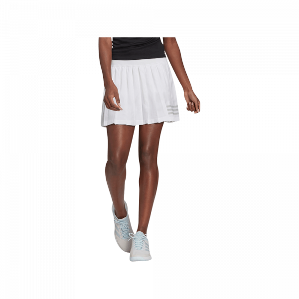 adidas Club Pleated Skirt White. A white padel skirt from adidas.