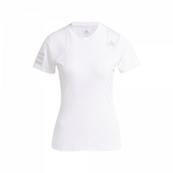 adidas Club T-Shirt White. A white padel t shirt from adidas.