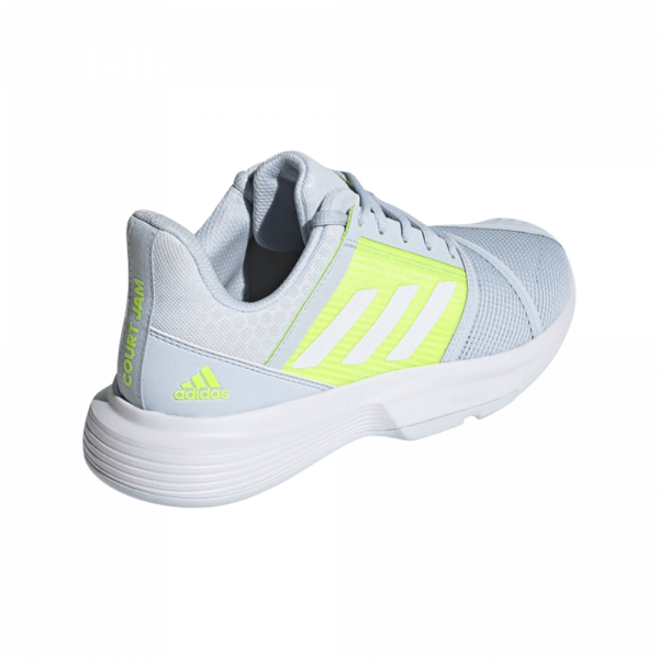 adidas Courtjam Bounce Halo Blue Cloud White. Blue and White padel shoes from adidas.