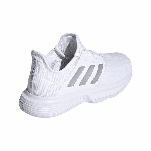 adidas GameCourt Cloud White. White padel shoes from adidas.