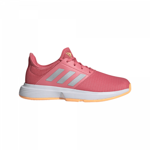 adidas GameCourt Hazy Rose. Red padel shoes from adidas.