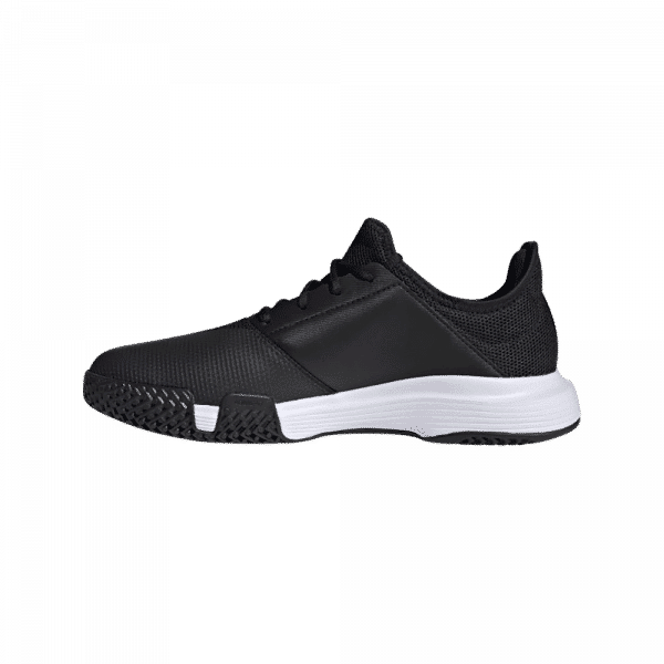 adidas GameCourt Black/Cloud White. Black and white padel shoes from adidas.