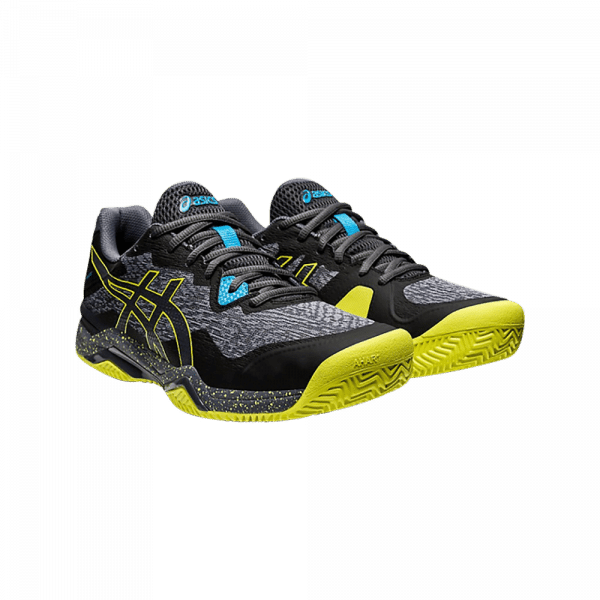 ASICS GEL-PADEL ULTIMATE black and yellow padel shoes from asics