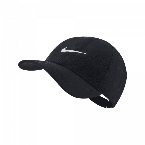Nike Court Advantage Cap black padel cap from Nike