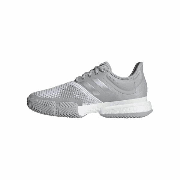 ADIDAS SOLECOURT, grey and silver padelshoes from adidas