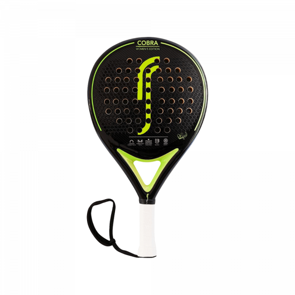 RS Cobra Women's Edition Lime green padel racket from RS padel