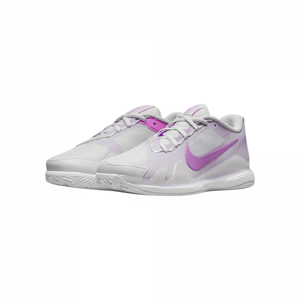 Nike Court Air Zoom Vapor Pro | White/Fuchsia Glow white and pink padel shoes from Nike