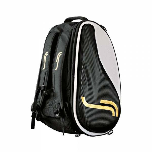 RS Classic Padel Bag | Cayetano Edition black and gold colored padel bag from RS
