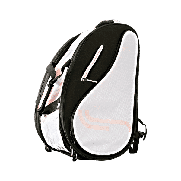 RS Classic Padel Bag White/Black/Pink padel bag from RS