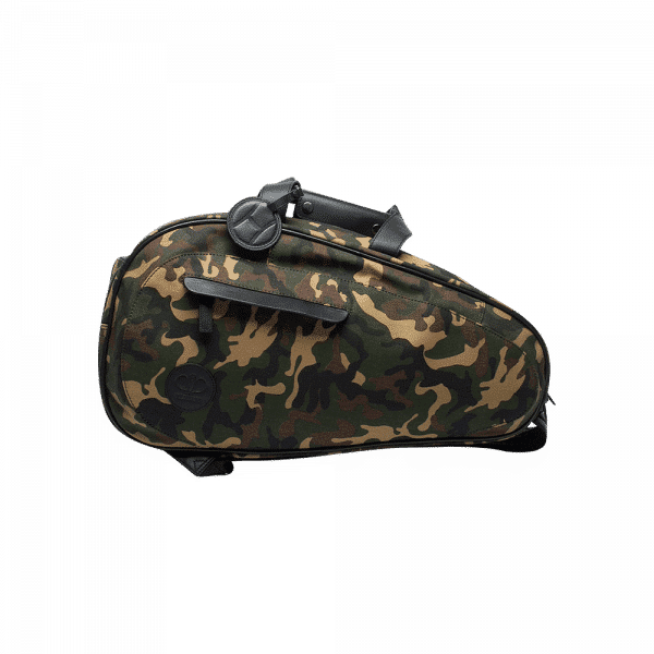 Hildebrand padel bag in camoflauge. Padel bag from the Swedish brand Hildebrand with space for racket and padel equipment.