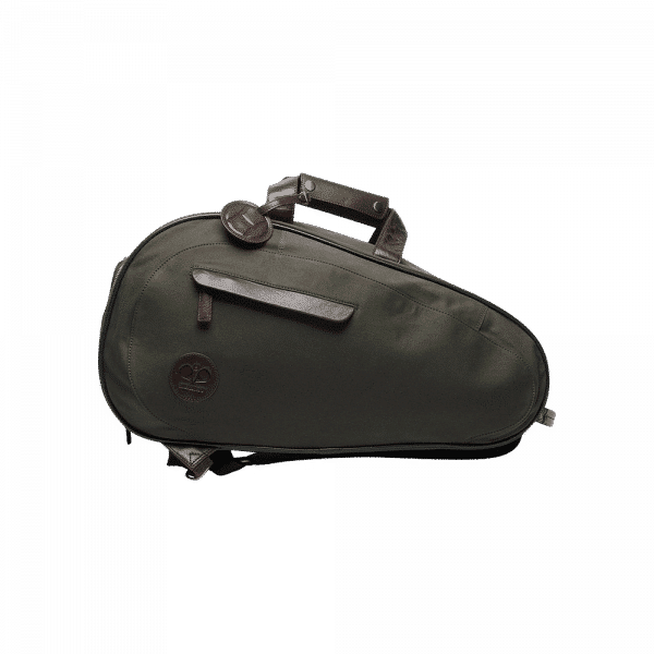 Hildebrand padel bag in olive green color. Padel bag from the Swedish brand Hildebrand with space for racket and padel equipment.