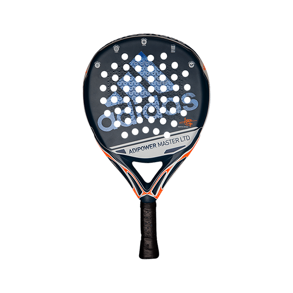 Adipower Master LTD is a limited racket from adidas. Perfect for the sore elbow. The core is incredibly wonderful together with the responsive surface.