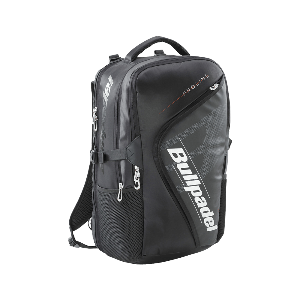 Bullpadel Tech Pro Back Pack Black