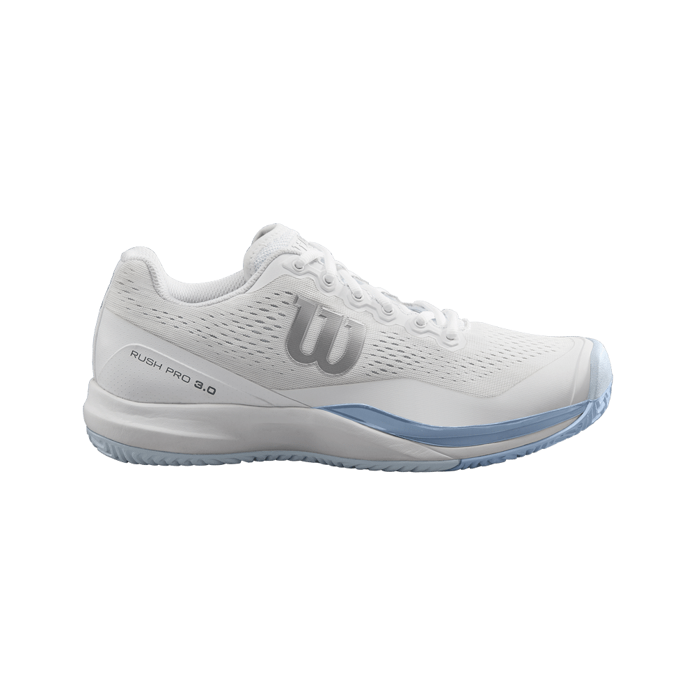 Wilson Rush 3.0 White and Cashmere Blue Woman