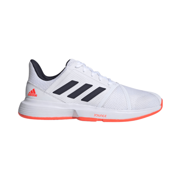adidas CourtJam Bounce Shoes White Solar Red FU8102. Herrskor från adidas.