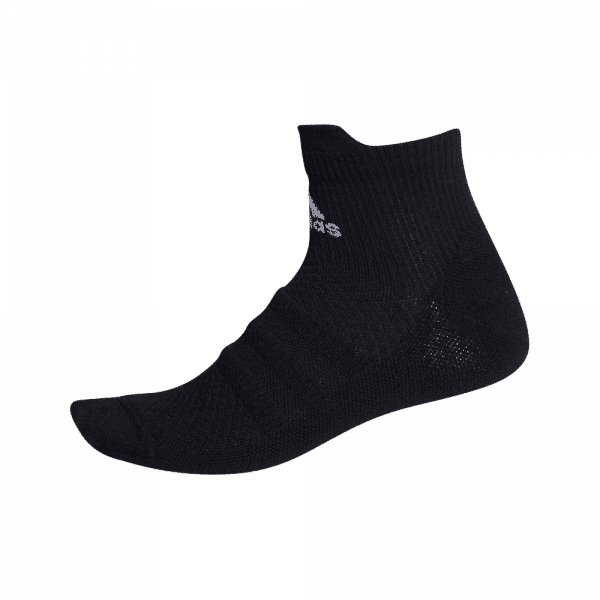 adidas Alphaskin Ankle Socks Black strumpor