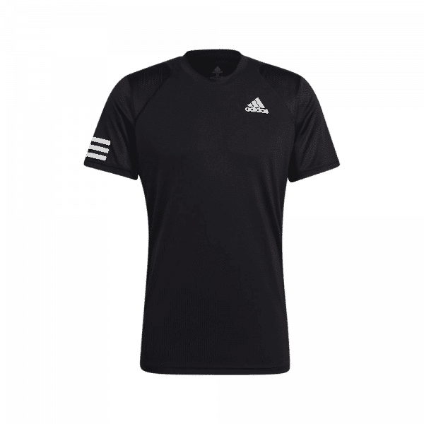adidas Club 3-Stripe T-Shirt Black. Svart t-shirt från adidas Club.
