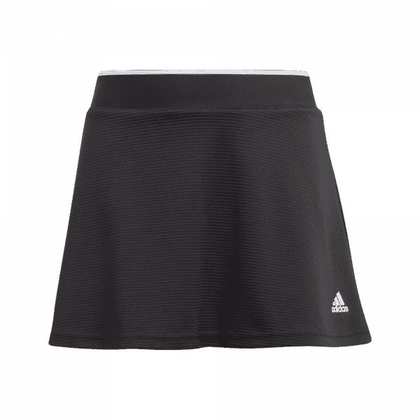 adidas Junior Club Skirt Black. Svart junior padelkjol från adidas.
