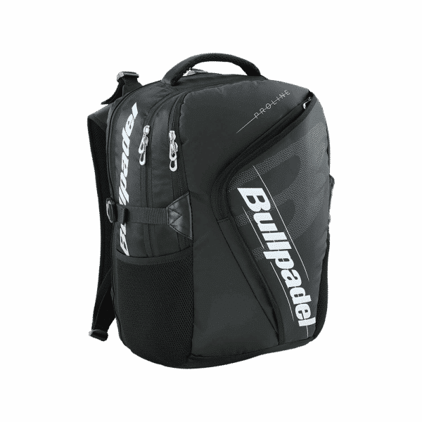 Bullpadel Pro Backpack Black. Svart padelryggsäck från Bullpadel.