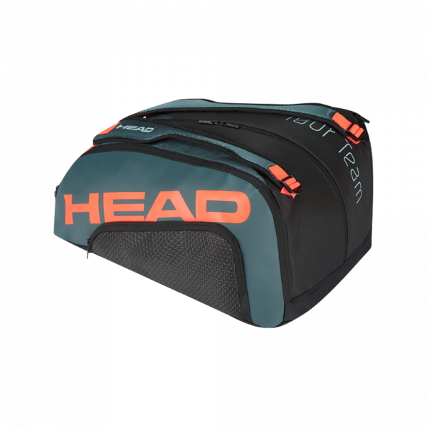 HEAD Tour Team Padel Monstercombi | Black/Orange. Svart och orange padelväska från HEAD.