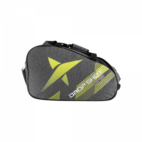 Drop Shot Ambition Racket Bag Grey/Yellow. Grå och gul padelväska från Drop Shot.