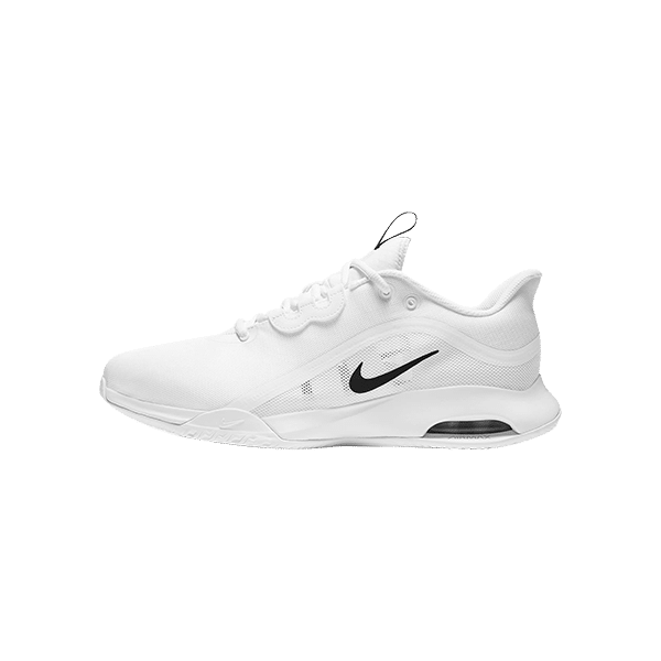 Nike Court Air Max Volley is a padel and tennis shoe in white with black details. CU4274-100